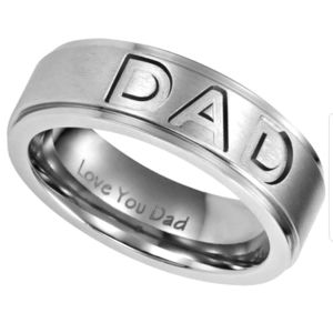 🐢 Engraved I Love You Dad Band